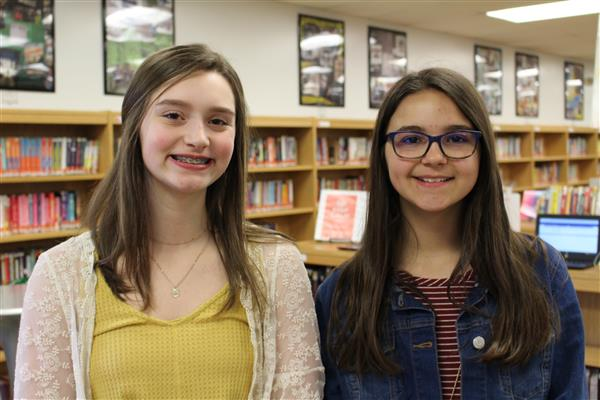 Glen Crest students Ashley Krebs, Emily Puchalski selected as district's first Student Board Members