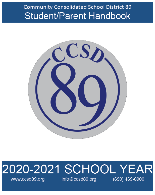 Please electronically sign the 2020-21 CCSD 89 handbook