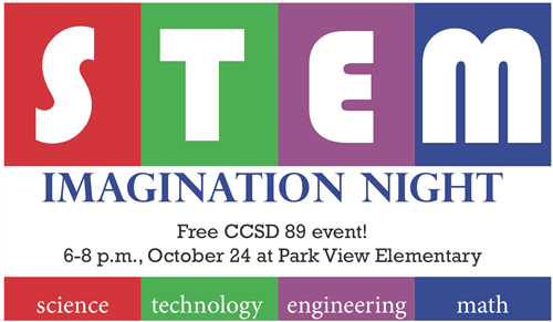 CCSD 89 families invited to STEM Imagination Night on October 24