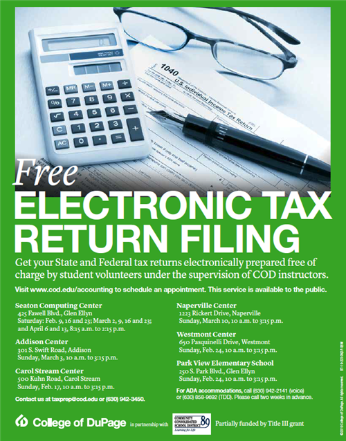Park View Elementary to host free tax filing event February 24